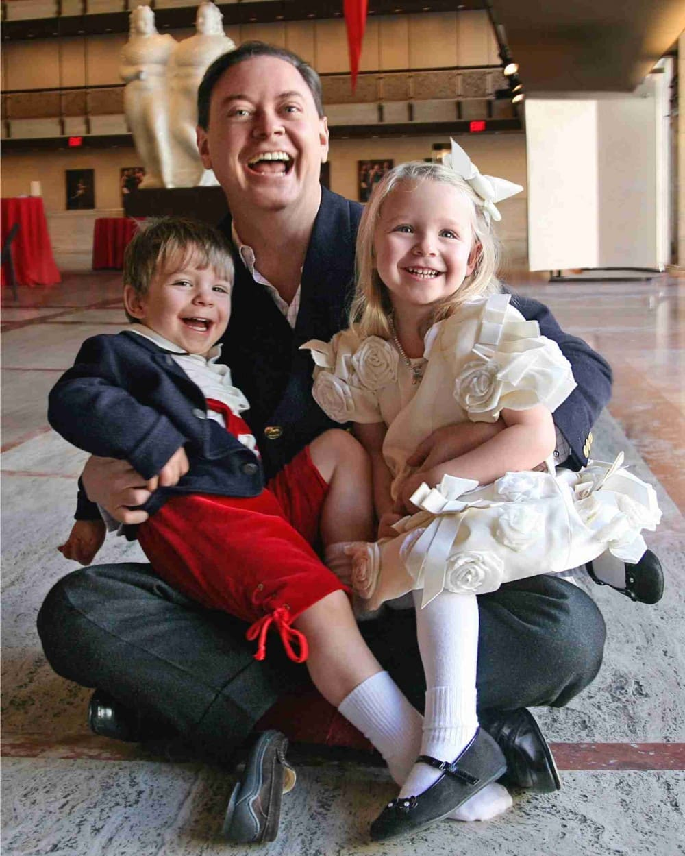 Andrew solomon with kids The One You Feed