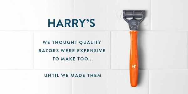 Harrys razors coupon code