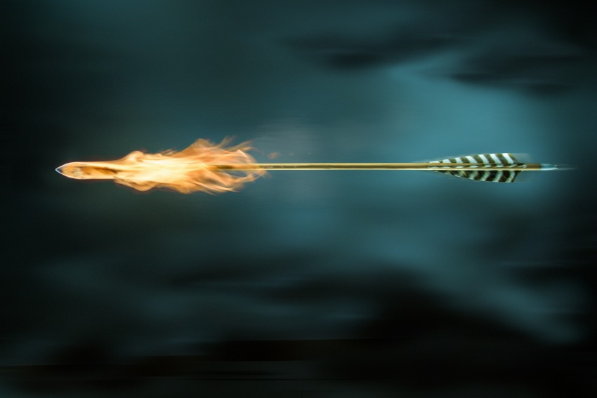 The second arrow