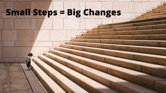 a life coach helps small steps become big changes