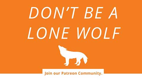 Don't be a lone Wolf